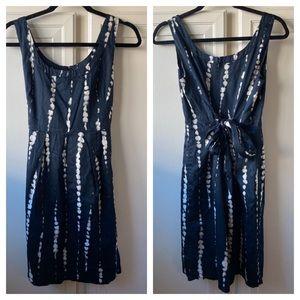 Ann Taylor Factory Tie Waist Tie Dye Sheath Size 2